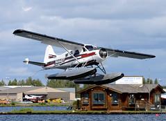 N444EF (John W Olafson) Tags: alaska beaver lakehood dehavillanddhc2beaver n444ef