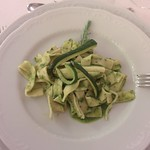 "Zucchini + Pasta @ Masseria Frantoio <a style=""margin-left:10px; font-size:0.8em;"" href=""http://www.flickr.com/photos/14315427@N00/19479207853/"" target=""_blank"">@flickr</a>"