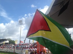 CPL Eliminator. TT Red Steel vs Guyana Amazon Warriors at Queens Park Oval, Port of Spain, Trinidad