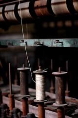 silk... (..Ania.) Tags: stilllife thread rust silk machinery bobbins silkmill notyourusualstilllife lonanconing