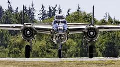 "North American B-25J Mitchell ""Buster"" (Hawg Wild Photography) Tags: nikon wwii north american buster mitchell warbirds b25j paulgallen flyingheritagecollection d4s nikon200400vr terrygreen painefieldairportkpae"