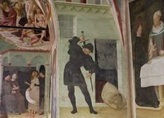 la decapitazione di Giovanni Battista (raffaele pagani) Tags: italy canon italia battistero fresco baptistery affresco provinciadivarese masolinodapanicale collegiateofcastiglioneolona baptisterylombardialombardynorth collegiatadicastiglioneolona cardinalebrandacastiglioni