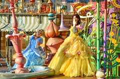 Soundsational Parade (EverythingDisney) Tags: princess disneyland disney parade belle cinderella dlr princessbelle princesscinderella soundsational mickeyssoundsationalparade soundsationalparade