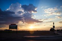 6:00am  // Gilbert,AZ (Peyton Gerken) Tags: arizona phoenix clouds sunrise canon landscape az gilbert dslr t3i