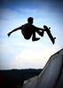 Skater   Silhouette (AnNamir™ c[_]) Tags: annamir sk8 skateboard action sports canon sigma 5dmk3 silhouette silueta montkiaraskatepark malaysia