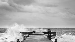 Angry ocean (jakraphat tongchim) Tags: ocean sea natuer bw