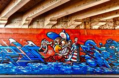 E che c'ho scritto Jo Condor? (Marco Trovò) Tags: marcotrovò hdr canon5d milano italia italy city street strada naviglio waterway graffiti mural murale città