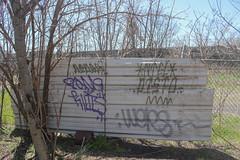 Pone, Ntel, Disto, Wers (NJphotograffer) Tags: graffiti graff new jersey nj po pone ntel aids crew disto distort goa wers
