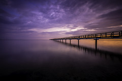 Bjärred Pier II (Mabry Campbell) Tags: 2013 april bjärred ef1740mmf4lusm europe houstonphotographer june mabrycampbell malmö scandinavia skane skåne sweden architecturalphotography architecturephotography coast coastal commercialphotography fineartphotographer fineartphotography image le longexposure malmo photo photograph photographer photography pier sea seascape sunset sverige water f56 december 2016 december222016 20161222campbellb0000995 80mm ¹⁄₁₆₀sec 100 hc80