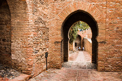 Alcazabar de Málaga (Keith in Exeter) Tags: alcazabar málaga spain moorish citadel palace fortification fortress terracotta brick gate puerta arch building architecture