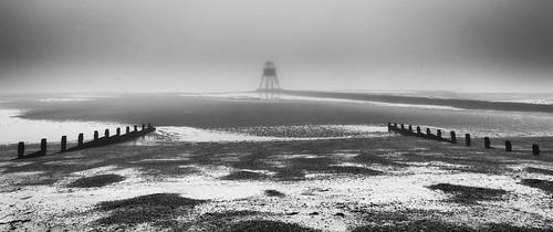 Misty Dawn At Dovercourt