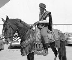 Caballo y jinete bandolero-Alameda (Málaga) (lameato feliz) Tags: jinete caballo alameda bandolero