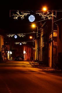 Lalevade-d'Ardèche, illuminations 2014
