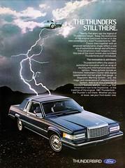 1981 Ford Thunderbird (aldenjewell) Tags: 1981 ford thunderbird ad 1955