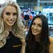 Ginetta Girls (Rich Byham) Tags: girls ginetta nec autosport show