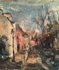 (Captain Wakefield) Tags: painting paris montmartre samuel burton art cityscape impressionist buildings contemporary street summer alla prima church sky blue