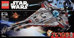 LEGO Star Wars 75186 The Arrowhead (hello_bricks) Tags: toyfair toy toys lego starwars starwarsrebels 75186 arrowhead
