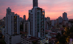 Sunset over Panama City, Panama (maxunterwegs) Tags: cityscape ciudaddepanamá coucherdesoleil dusk elcangrejo ocaso panama panamacity panamastadt panamá pôrdosol sonnenuntergang sunset