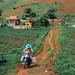 Farmer on Motorcycle, Sơn La Vietnam