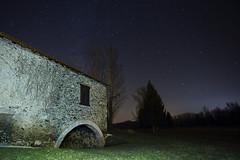 (jérémilie) Tags: nuit night pose longue ciel étoilés étoiles moulin pointis de rivière canon 6d 1740mm 1740 haute garonne voie lactée milky way france