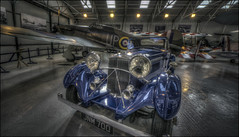 The Shuttleworth Collection 2017 (5) (Darwinsgift) Tags: shuttleworth collection old warden bedfordshire railion sports car vintage aircraft museum aviation hdr ralion photomatix carl zeiss 15mm distagon f28 zf 2 zf2 nikon d810 multiple exposures art