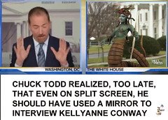 CHUCK TODD INTERVIEWS KELLYANNE CONWAY (The Devils in the Details) Tags: donaldtrump kellyanneconway seanspicer inauguration chucktodd executiveorder washingtondc cia gop isis vladimirputin russia sexdrugsandrockandroll hillaryclinton plannedparenthood bigot dumptrump thewalkingdead republican pedophile mikepence washingtondcwomensmarch badhombre conservative rape riencepriebus donaldmcgahn stevenbannon frankgaffney jeffsessions generaljamesmattis generaljohnkelly stevenmnuchin andypuzder wilburross cathymcmorrisrodgers twitter mitchmcconnell ktmcfarland mikepompeo nikkihaley betsydevos tomprice scottpruitt seemaverma trumptower meetthepress marriageequality kukluxklan daryldixon newyorkcity melaniatrump riggedelection jihad terrorist taliban mexicanwall racism confederateflag nazi islam freedom berniesanders americannaziparty therollingstones democrat civilrights tednugent tempertantrum abortion tinfoilhatsociety tyrant foxnews liberal alecbaldwin