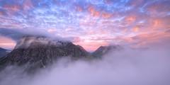 Mist Flow (J McSporran) Tags: scotland highlands westhighlands glencoe buachailleetivemor buachailleetivebeag lairiggartain landscape canon6d morning morningmist clouds dawn dawnmist