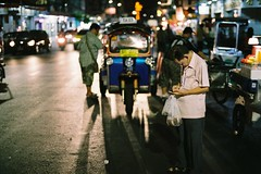 Loose Change (benriley80) Tags: street thai local chinatown bkk bangkok thailand krungthep film fujifilm fujipro400h nikonf3 nikon f3