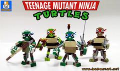 TMNT MIXELISED (baronsat) Tags: lego tmnt teenage mutant ninja turtles toy mixel custom moc brick figure