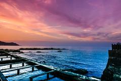 Dusk sky over the sea (l0001_2001) Tags: sea dusk sunset taiwan 台灣 新北市 海 夕陽 黃昏 newtaipeicity