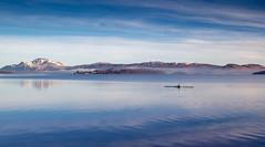 Row your boat (rgcxyz35) Tags: winter scotland rowing lochlomond lochs