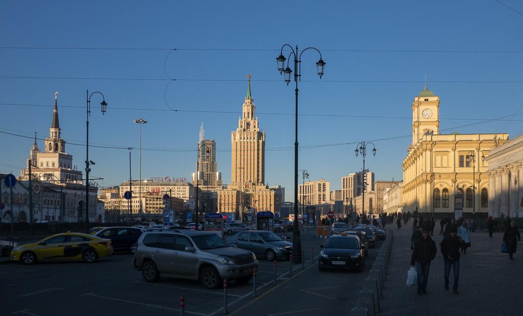 фото: Комсомольская площадь / Komsomolskaya Square