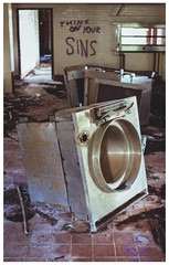 Sins in the Kitchen, Polphail (Gordon_Farquhar) Tags: urban west building abandoned architecture coast scotland town photo village outdoor decay argyll ghost border eerie spooky oil derelict dunoon tighnabruich portavadie polphail