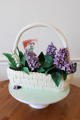 Sculpted Flower Basket