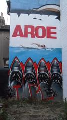 AROE (Brighton Rocks) Tags: graffiti brighton kings letter artillery msk ha mad seventh heavy society 7th aroe