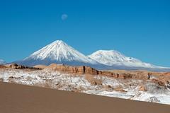 Licancabur and Jurique Volcanos