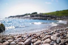 ocean air (charlotte.buckle) Tags: ocean 35mm canon newfoundland outdoors rocks pebbles atlantic breeze