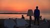When The Lights Are Down (macplatti) Tags: sundown sonnenuntergang israel mittelmeer mediterranian gelobtesland strand beach telaviv isr