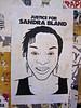 Sandra Bland, San Francisco, CA (Robby Virus) Tags: sanfrancisco california sf ca paste pasted paper wheatpaste street art sandra bland justice