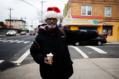 Christmas Around The Corner (The North Face) (JMJ Cinematics) Tags: canon streetphotography brooklyn nyc newyorkcity newyork nuevayork ny portrait christmas 2016 canarsie bk jmjcinematics josemiranda photojournalist 35mm xmas holidays santa portraits people christmasspirit holidayspirit