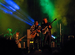 Slade performing at the Perth Christmas Lights switch on (andyflyer) Tags: slade rockband merryxmaseverybody malmcnulty davehill johnberry donpowell perth perthshire perthchristmaslights