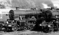 BH 52430bwcr1 (kgvuk) Tags: barrowhill roundhouse engineshed railways trains steamtrain locomotive steamlocomotive steamengine leander 45690 jubileeclass 5xp 460 43106 260 ivatt4mt