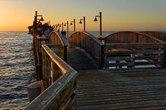 Swakopmund's pier at sunset (marko.erman) Tags: romantic silhouette arches perspective sony pier sunset swakopmund namibia