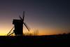 The old wind mill 2 (Flatroad) Tags: sverige landskap vinter höör solnedgång skåne