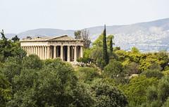 Templo de Hefesto (guillenperez) Tags: grecia greece hellas athens atenas templo dorico doric hefesto hephaestus hefestion agora classic clasico