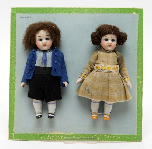Pair of Miniature Dolls ($168.00)