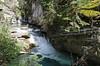 In the Canyon DSL4457 (iloleo) Tags: johnsoncanyon banffnationalpark alberta nature scenic landscape canada nikond7000 canyon fence summer rugged rapids