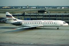 Air Charter Caravelle F-BJEN (c/n 185) (Manfred Saitz) Tags: frankfurt airport fra eddf air charter eas caravelle se210 s210 crv fbjen freg