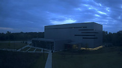 Building (~ Lone Wadi ~) Tags: building evening sunset outdoors quiet darkened cloudy overcast