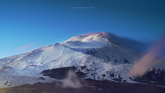 The end of 18 january (nicolò parasole) Tags: pentax k3 dfa70200f28awr etna volcano catania sicily night sunset travel nicopara71 n©photography nicolòparasole